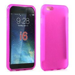 Apple iPhone 6 4.7 TPU Gel Case (Hot Pink)